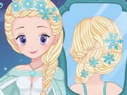 Juego Elsa Real Wedding Braids