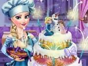 Juego Elsa Wedding Cake