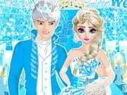 Juego Elsa Wedding