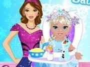Juego Elsas Babysitter