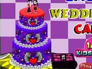 Juego Emo Wedding Cake