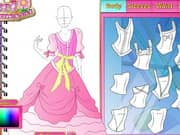 Juego Fashion Studio Princess Dress Design