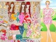 Juego Floral Barbie