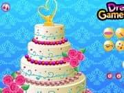Juego Floral Wedding Cake