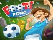 Juego Footi-Pong