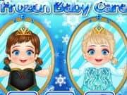 Juego Frozen Baby Care