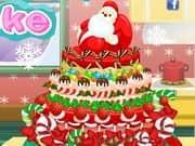 Juego Frozen Christmas Cake