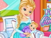 Juego Frozen Elsa Gives Birth