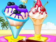 Juego Frozen Ice Cream Maker