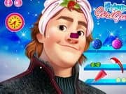 Juego Frozen Kristoff Christmas Make Up