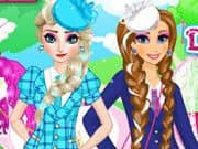 Juego Frozen School Dress Code