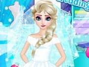 Juego Frozen Wedding Designer