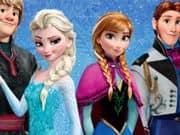 Juego Frozen Winter puzzle