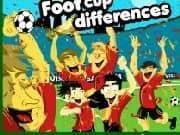 Juego Futbol Copa en Encuentra Diferencias