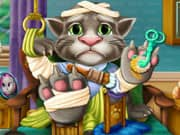 Juego Gato Talking Tom Hospital de Recuperacion
