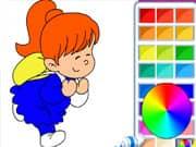 Juego Hermoso Libro de Colorear