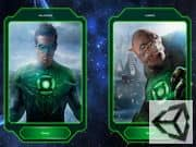 Juego Heroe Linterna Verde