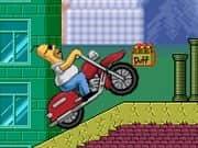 Juego Homer Motorbike