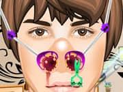 Juego Justin Bieber Nose Doctor