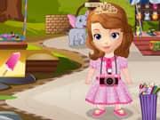 Juego La Princesa Sofia va al Zoologico
