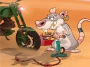 Juego La Rata en la Moto Sucia