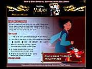 Juego Laberinto de Mulan