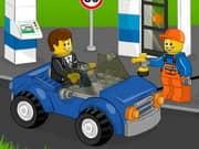 Juego Lego Gas Station
