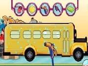 Juego Limpiando el Bus Escolar