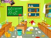 Juego Limpiar el Laboratorio - Limpiar el Laboratorio online gratis, jugar Gratis