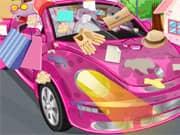 Juego Limpiar mi Carro Rosado