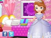 Juego Little Princess Sofia Washing Clothes