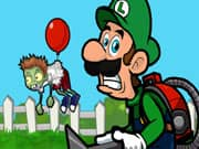 Juego Luigi Dispara a los Zombis