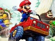 Juego Mario Bros Guerra de Camiones