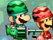 Juego Mario Bros Metal Slug