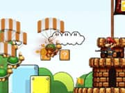 Juego Mario Bros Protegiendo el Castillo