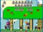 Juego Mario Combat Invaders
