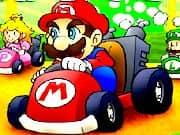 Juego Mario Kart Flash