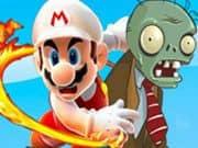 Juego Mario dispara a los Zombis