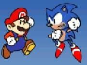 Juego Mario vs Sonic Edicion Especial