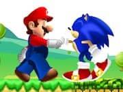Juego Mario y Sonic