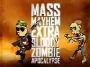 Juego Mass Mayhem Zombie Apocalypse