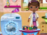 Juego McStuffins Washing Clothes