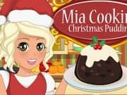 Juego Mia Cooking Christmas Pudding