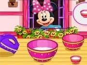 Juego Minnie Mouse Haciendo Dulces