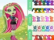 Juego Monster High Chibi Venus Dress Up