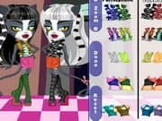 Juego Monster High Chibi Werecat Sisters