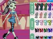 Juego Monster High Frankie Stein Style