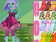 Juego Monster High Grimmily Anne Dress Up