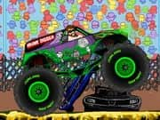 Juego Monster Truck Zombies