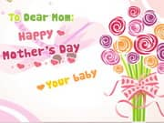 Juego Mothers Day Card